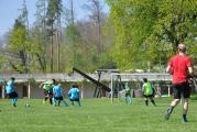 <h5>Schiri in Rot</h5><p>Der FUFA-Match Knonau:Elgg fand auf dem Fussballplatz der Zürcherischen Pestalozzistiftung statt. </p>