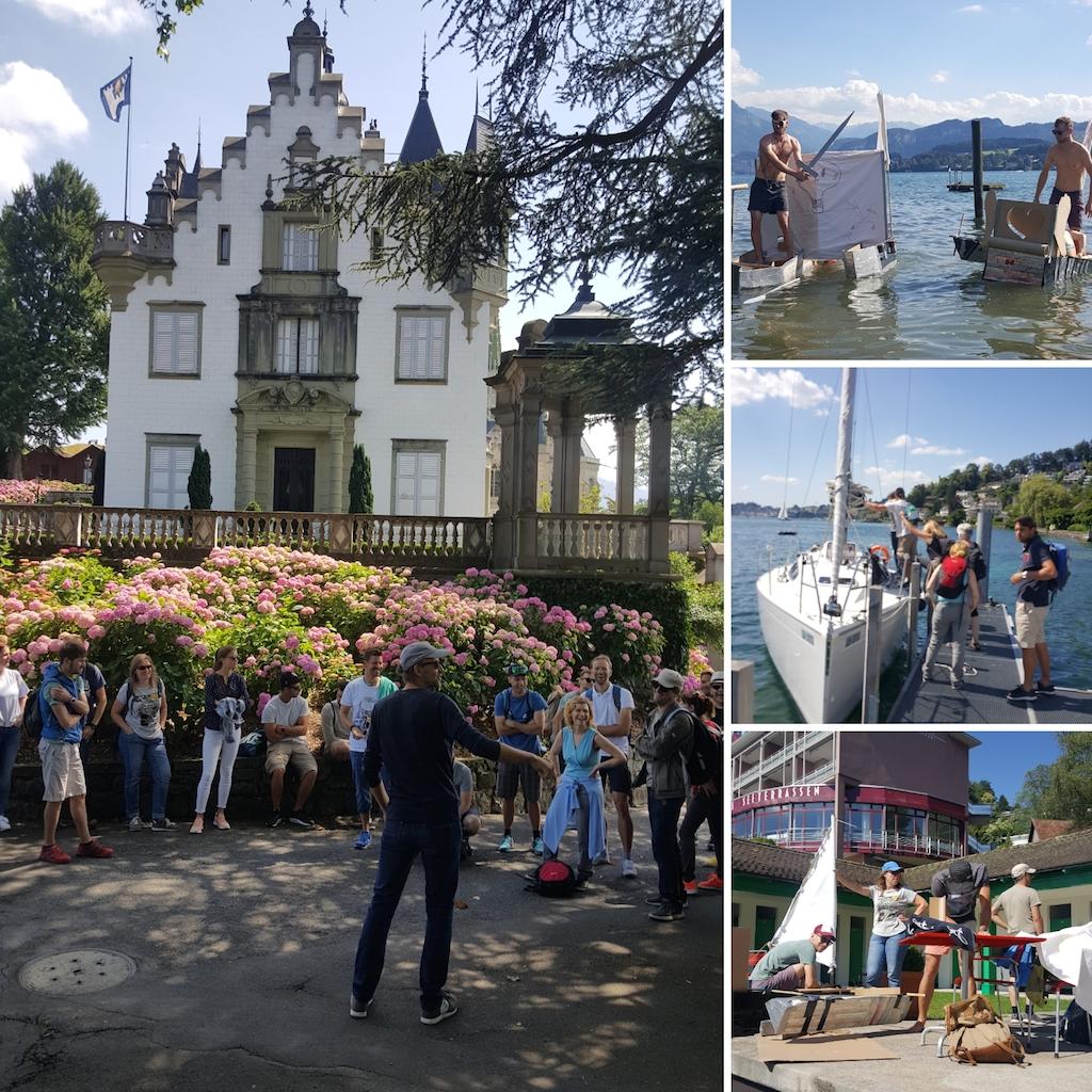 Mitarbeiterausflug Zürcherische Pestalozzistiftung Luzern