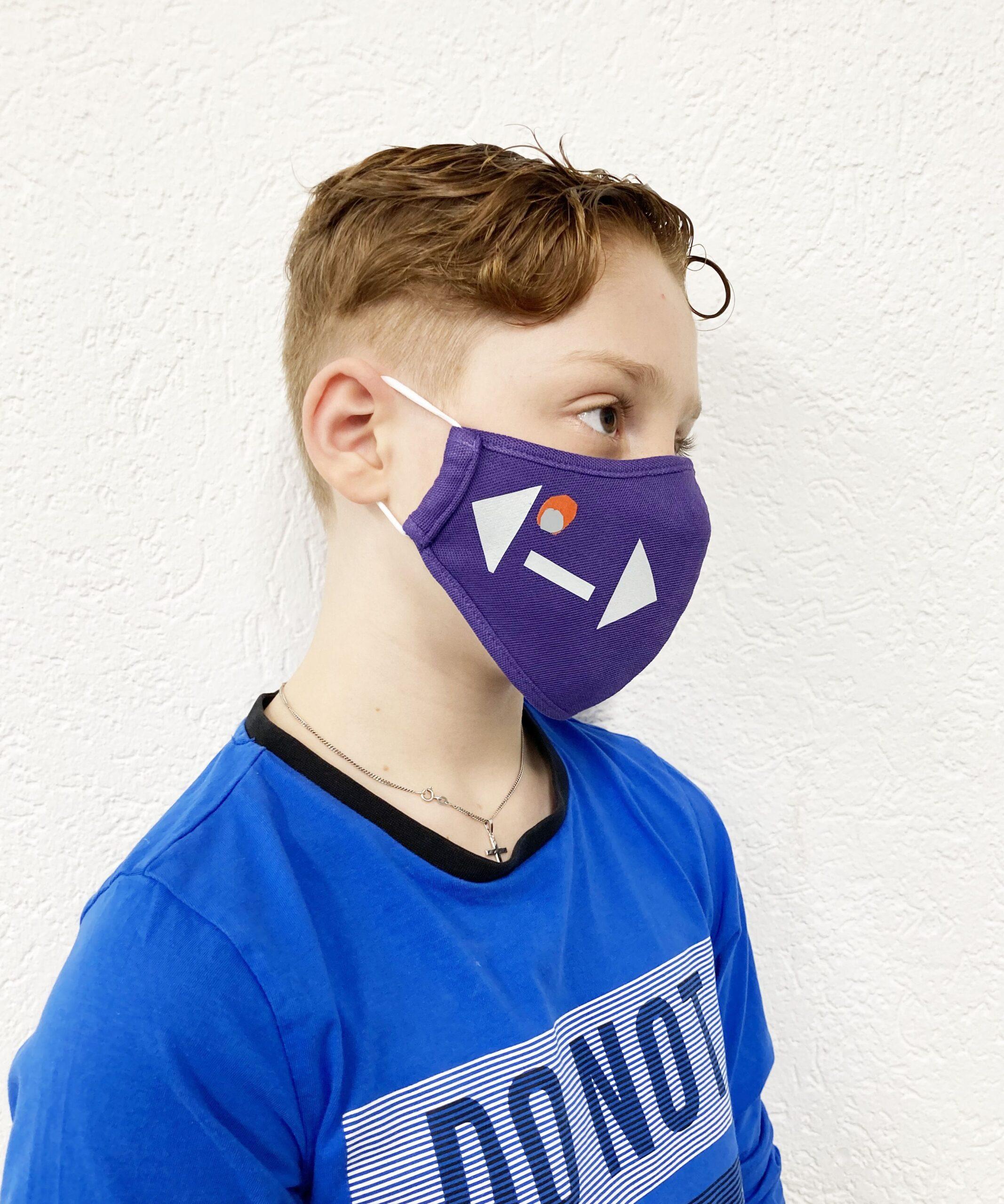Auch wir tragen Gesichtsmasken in der Schule